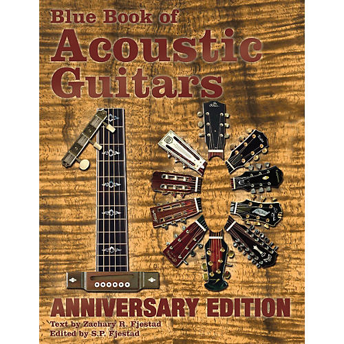 Music Sales Blue Book of Acoustic Guitars 10th Anniversary Edition-thumbnail