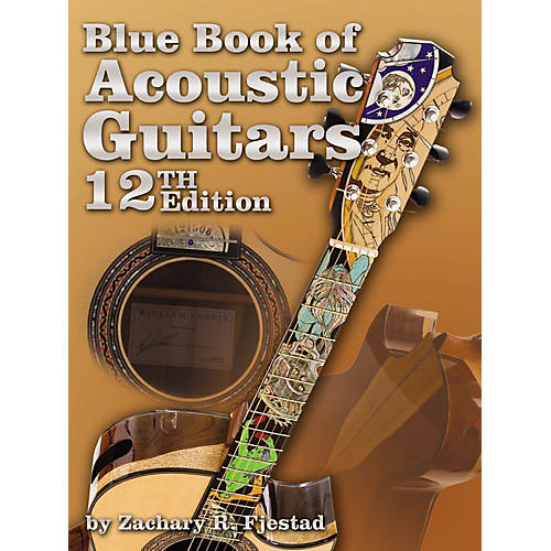 Alfred Blue Book of Acoustic Guitars, 12th Edition (Book/CD-ROM)