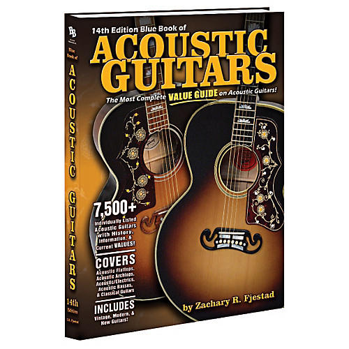 Alfred Blue Book of Acoustic Guitars (14th Edition)-thumbnail
