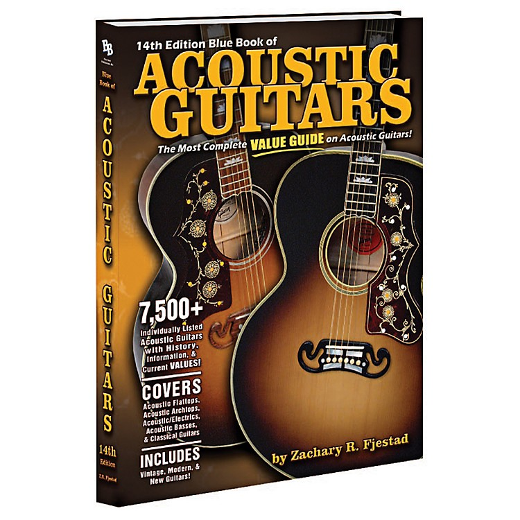 Alfred Blue Book of Acoustic Guitars (14th Edition)