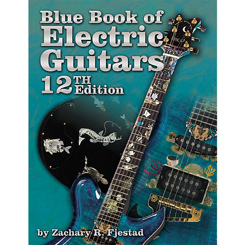 Alfred Blue Book of Electric Guitars, 12th Edition (Book/CD-ROM)-thumbnail