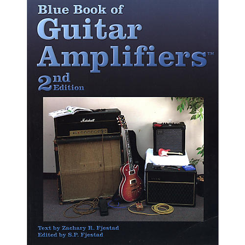 Music Sales Blue Book of Guitar Amplifiers - 2nd Edition Book