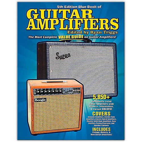 Hal Leonard Blue Book of Guitar Amplifiers-5th Edition-thumbnail