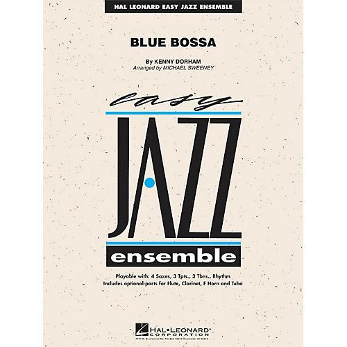 Hal Leonard Blue Bossa Jazz Band Level 2 Arranged by Michael Sweeney-thumbnail
