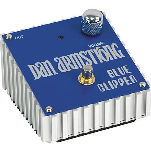 Dan Armstrong Blue Clipper Fuzz Guitar Effects Pedal-thumbnail