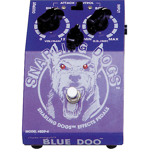 Snarling Dogs Blue Doo Tube Emulator