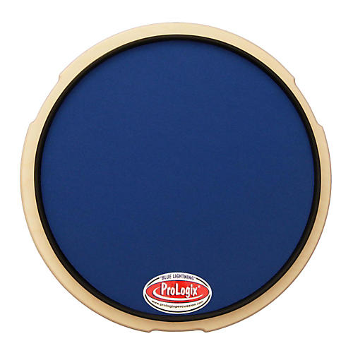 ProLogix Percussion Blue Lightning Series Practice Pad 10 in.