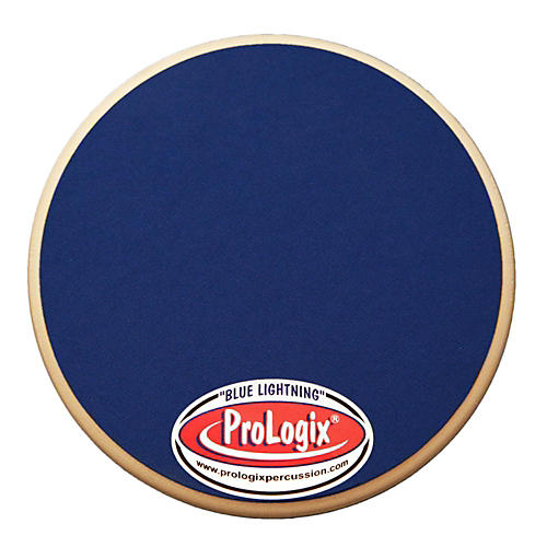 ProLogix Percussion Blue Lightning Series Practice Pad 6 in.