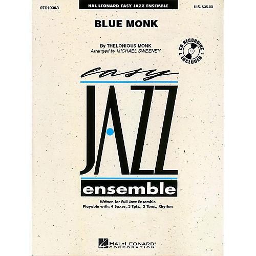 Hal Leonard Blue Monk Jazz Band Level 2 Arranged by Michael Sweeney-thumbnail
