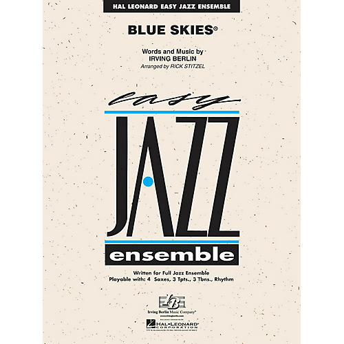 Hal Leonard Blue Skies Jazz Band Level 2 Arranged by Rick Stitzel