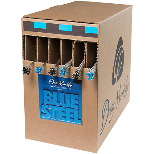 Dean Markley Blue Steel Light Box 25 Sets  Electric Guitar Strings