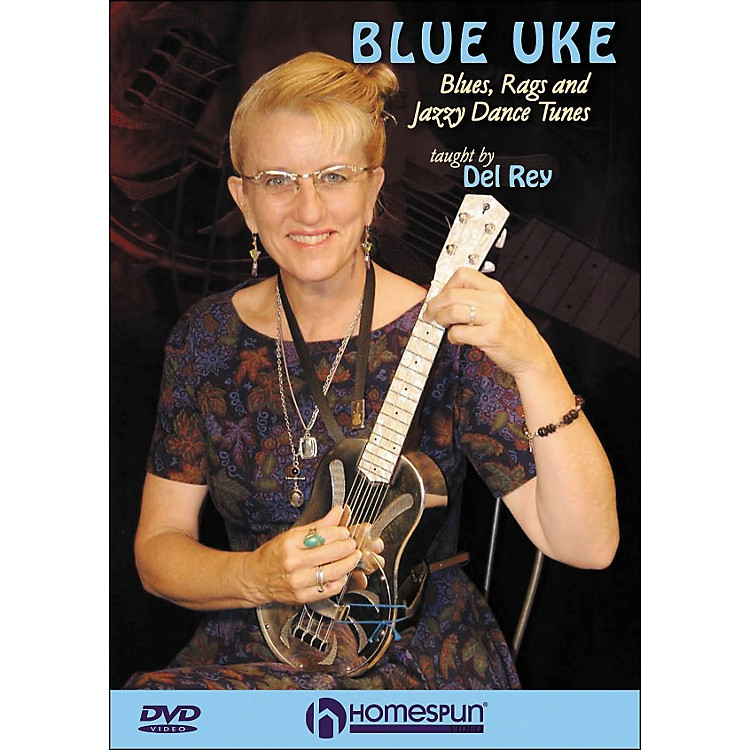 HomespunBlue Uke: Blues, Rags And Jazzy Dance Tunes (DVD)