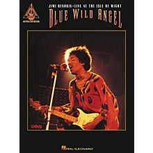 Hal Leonard Blue Wild Angel Jimi Hendrix Live at the Isle of Wight Guitar Tab Songbook