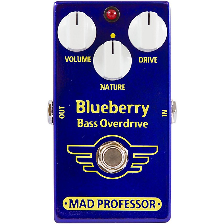Mad Professor BlueBerry Bass Overdrive Guitar Effects Pedal
