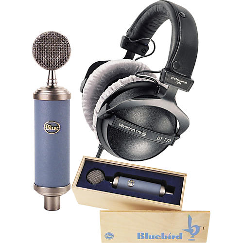 Blue Bluebird Mic & DT770 Headphone Pack