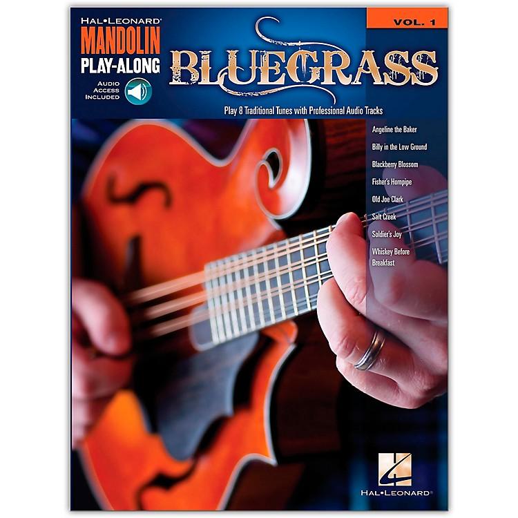 Hal LeonardBluegrass - Mandolin Play-Along Volume 1 Book/CD
