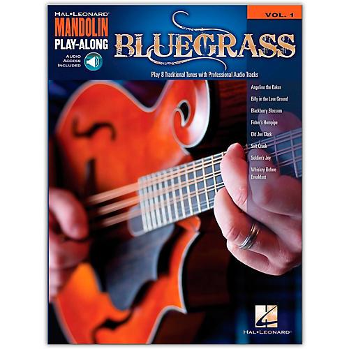 Hal Leonard Bluegrass - Mandolin Play-Along Volume 1 (Book/Online Audio)-thumbnail