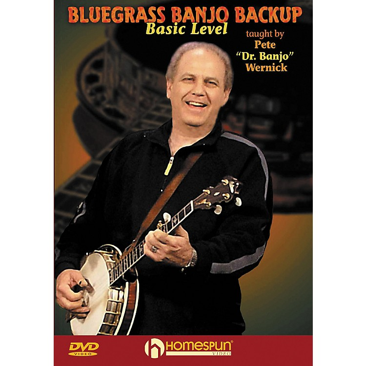 Homespun Bluegrass Banjo Backup for Beginners DVD