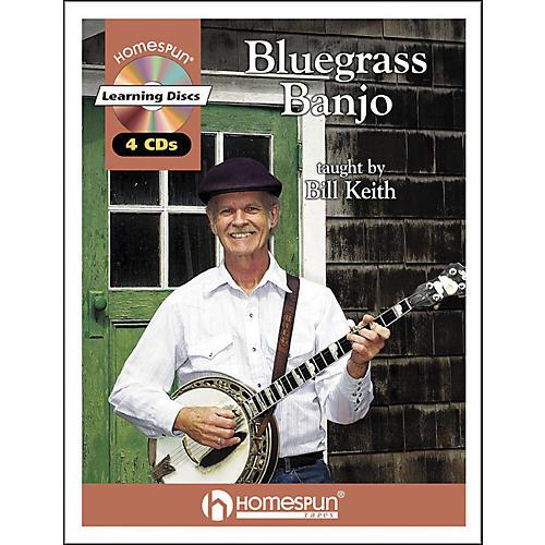 Homespun Bluegrass Banjo (Book and CD Package)-thumbnail