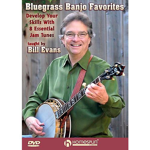 Homespun Bluegrass Banjo Favorites: Develop Your Skills With 8 Essential Jam Favorites DVD