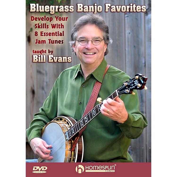 HomespunBluegrass Banjo Favorites: Develop Your Skills With 8 Essential Jam Favorites DVD