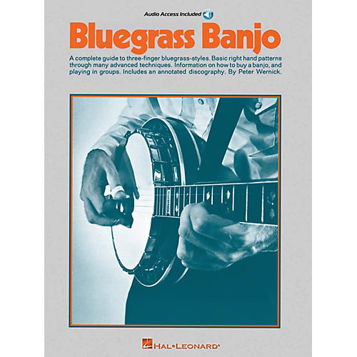 Music Sales Bluegrass Banjo Music Sales America Series Softcover with CD-thumbnail