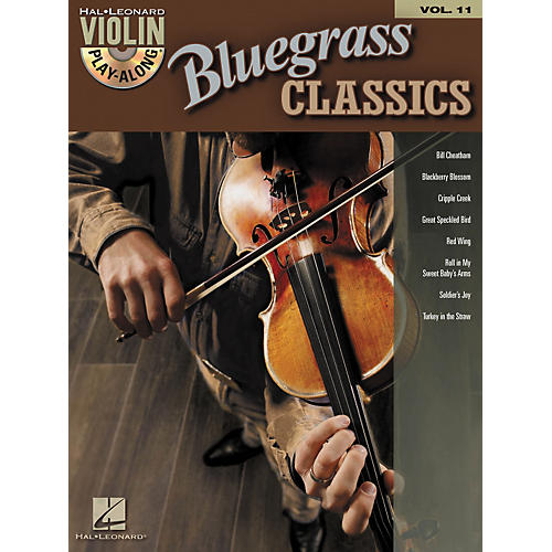 Hal Leonard Bluegrass Classics - Violin Play-Along Volume 11 (Book/CD)