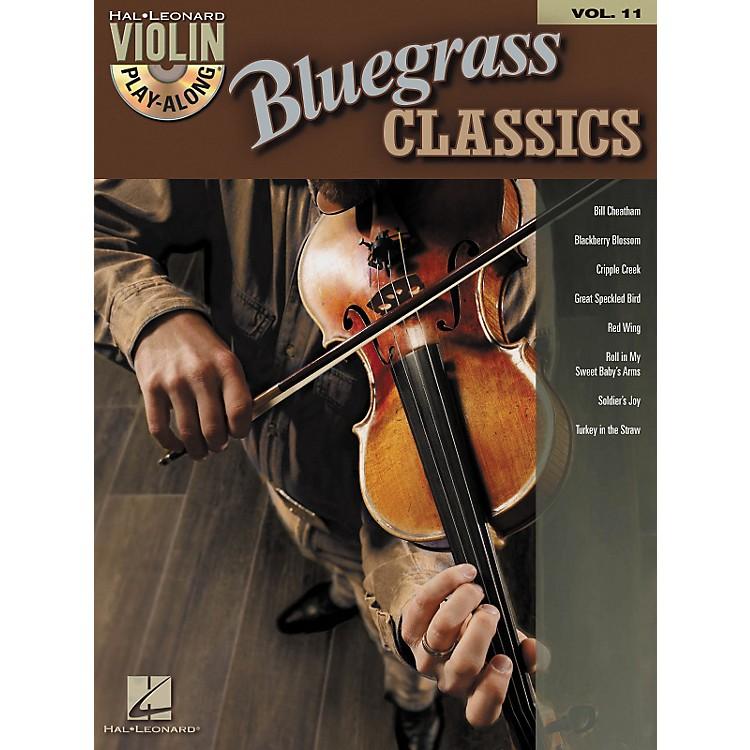 Hal LeonardBluegrass Classics - Violin Play-Along Volume 11 (Book/CD)