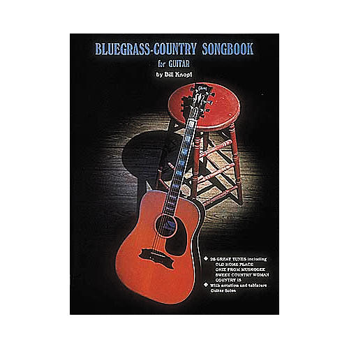 Hal Leonard Bluegrass Country Songbook for Guitar Book-thumbnail
