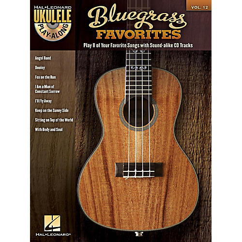 Hal Leonard Bluegrass Favorites - Ukulele Play-Along Vol. 12 Book/CD-thumbnail