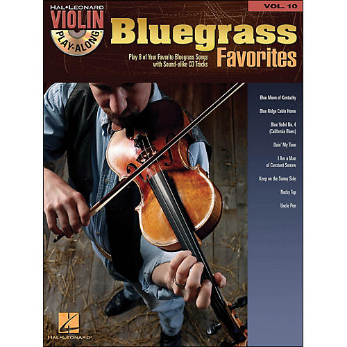 Hal Leonard Bluegrass Favorites - Violin Play-Along Volume 10 (Book/CD)