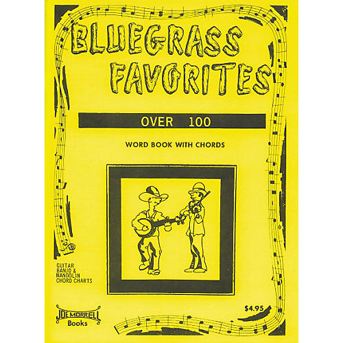 Morrell Music Bluegrass Favorites Book Volume 1