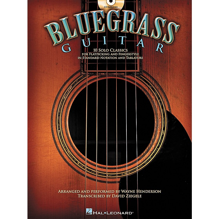 Hal Leonard Bluegrass Guitar - 10 Solo Classics For Flatpicking and Fingerstyle (Book/CD)