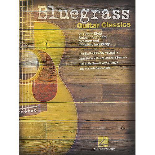Hal Leonard Bluegrass Guitar Classics Tab Songbook