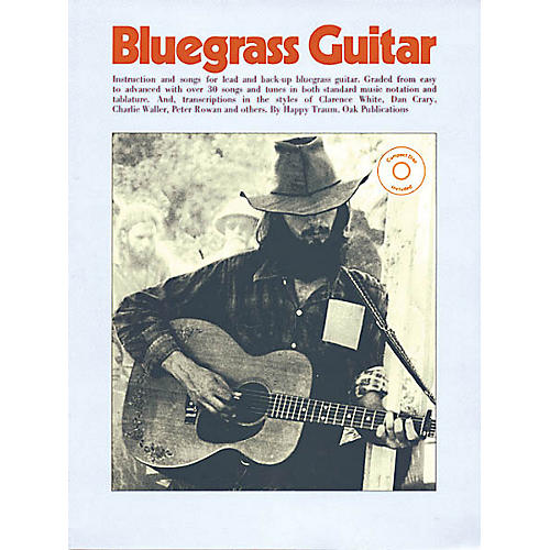 Oak Bluegrass Guitar Music Sales America Series Softcover with CD Written by Happy Traum-thumbnail
