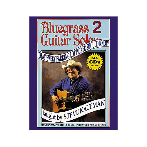 Homespun Bluegrass Guitar Solos That Every Parking Lot Picker Should Know 2 (Book/CD)