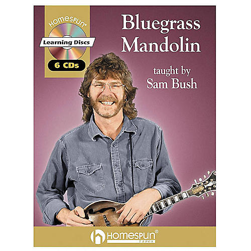 Homespun Bluegrass Mandolin (Book/CD)