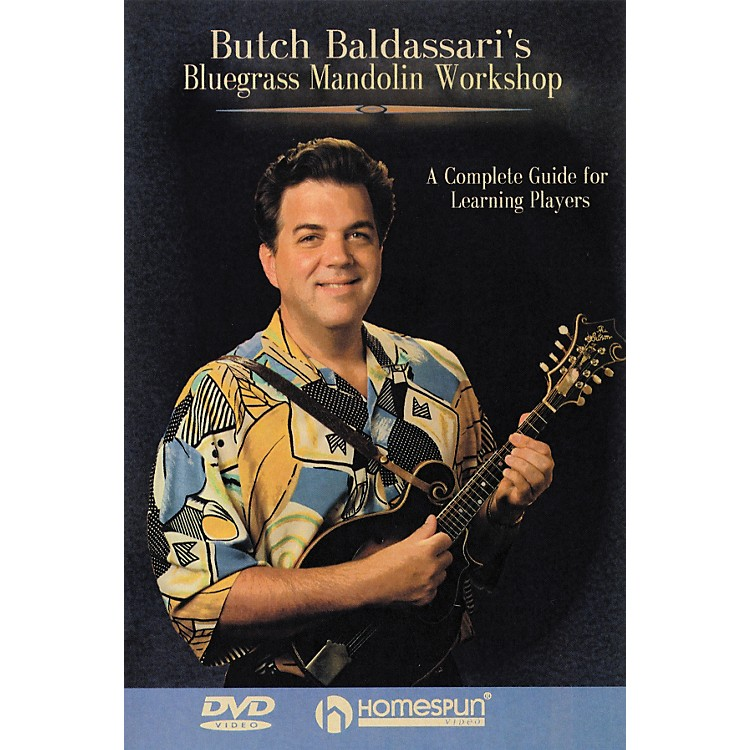 Homespun Bluegrass Mandolin Workshop (DVD)