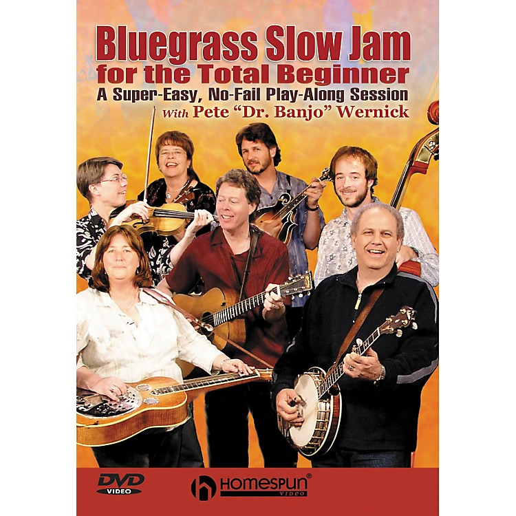 Homespun Bluegrass Slow Jam for the Total Beginner - Any Instrument (DVD)