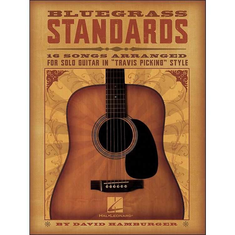 Hal Leonard Bluegrass Standards - 16 Songs Arr. for Solo Guitar In