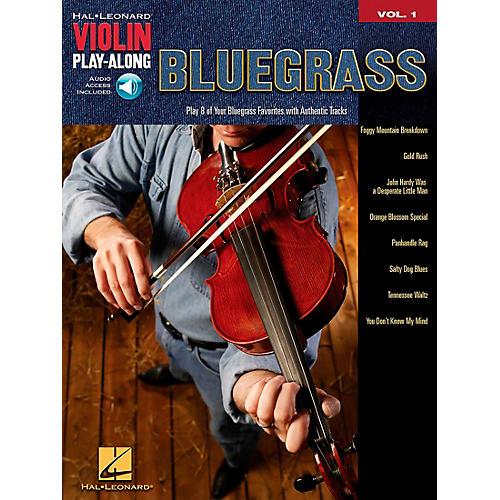 Hal Leonard Bluegrass Violin Play-Along Volume 1 Book/CD-thumbnail