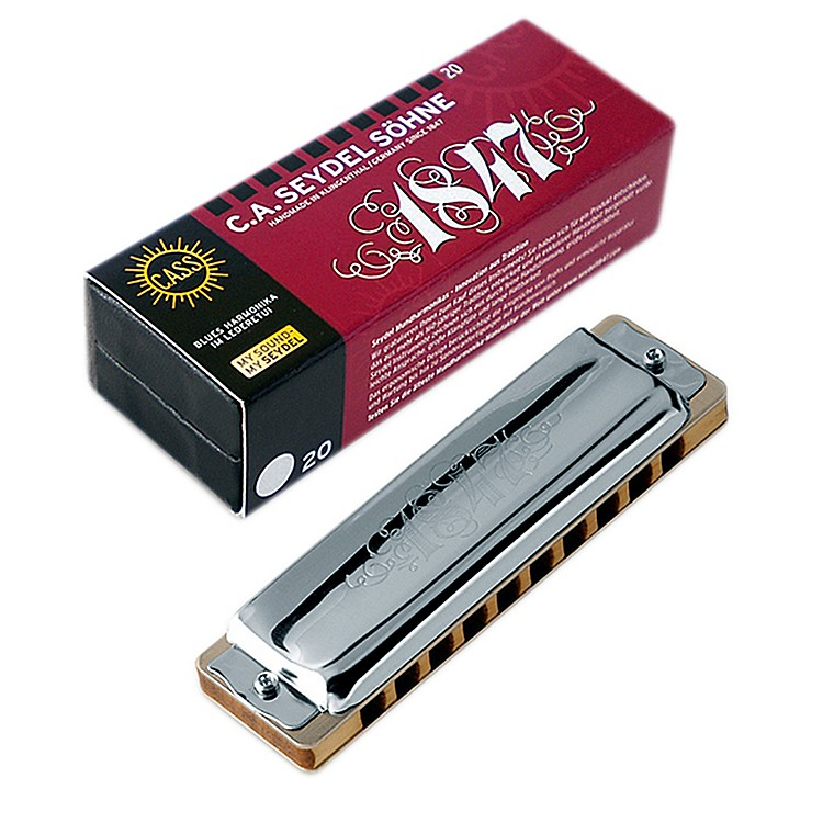 SEYDEL Blues 1847 Harmonica E Nobel