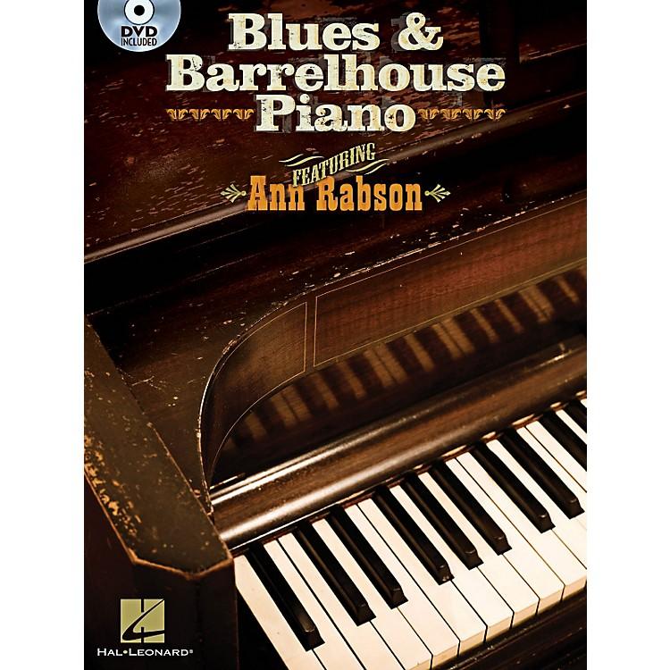 Hal LeonardBlues & Barrelhouse Piano - Book/DVD