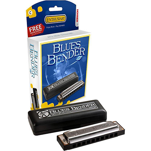 Hohner Blues Bender P.A.C. Harmonica F
