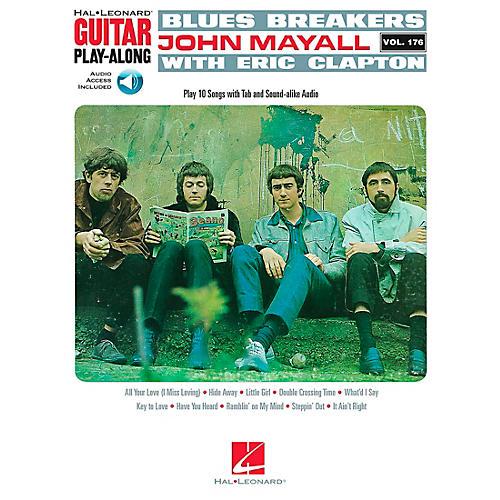 Hal Leonard Blues Breakers With John Mayall & Eric Clapton - Guitar Play-Along Book/CD