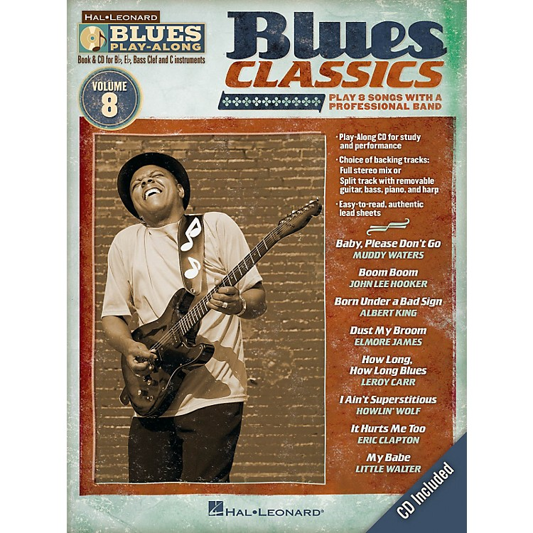 Hal LeonardBlues Classics - Blues Play-Along Volume 8 Book/CD
