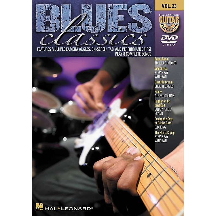 Hal Leonard Blues Classics - Guitar Play-Along DVD Volume 23
