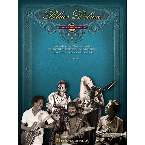 Hal Leonard Blues Deluxe - Guitar Master Series (CD/Pkg)