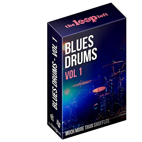 The Loop Loft Blues Drum Loops Vol 1 Software Download
