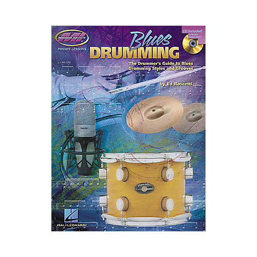 Hal Leonard Blues Drumming Book/CD